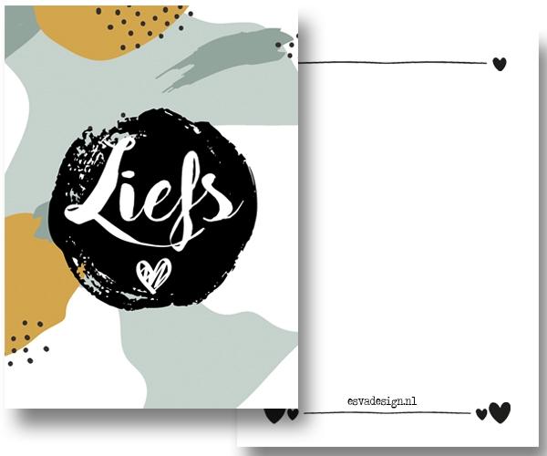 StormIT-Design Kaart Liefs Groen