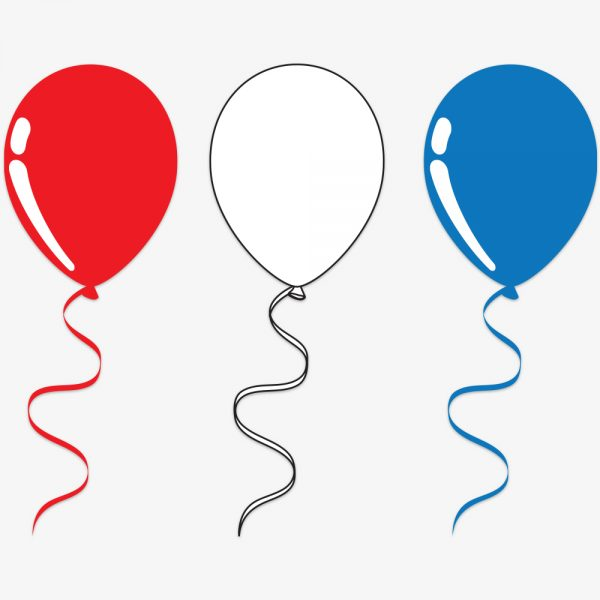 StormIT-Design Raamsticker ballonnen