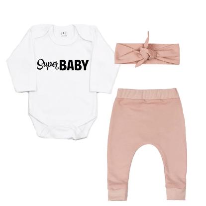 StormIT-Design - Romper Super Baby - Slim fit broekje + Haarband
